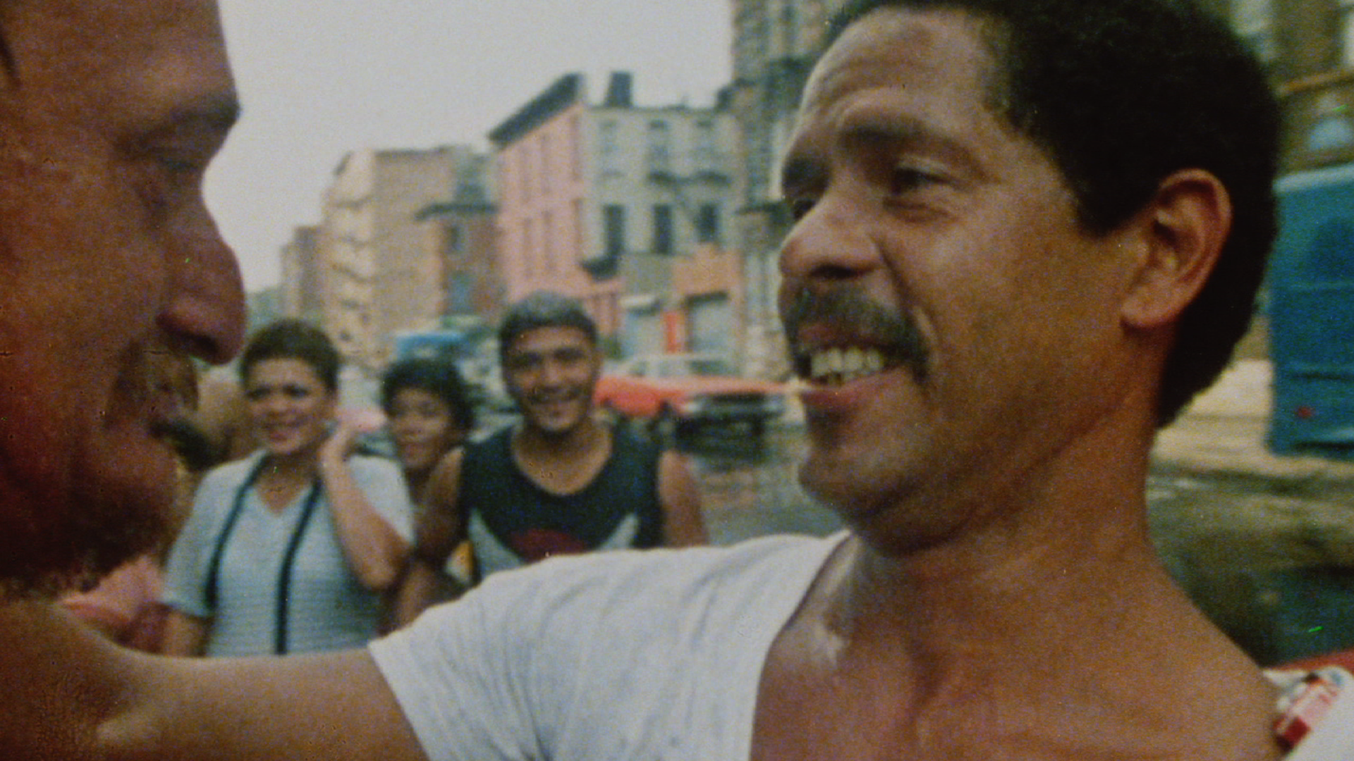 Cuso Soto, 1984. A Still from the documentary, Los Sures.